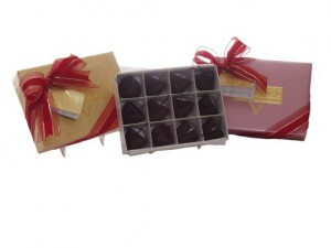 Grande Cherry Chocolate Truffles Gift Box