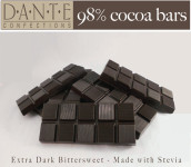 Dark Chocolate Bar with Stevia